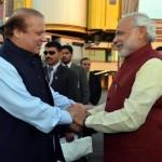 Modi meets Nawaz