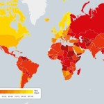 These Maps And Charts Strike That Not A Single Country In The World Is Corruption-Free