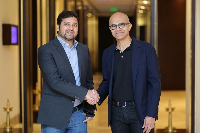 Flipkart and Microsoft