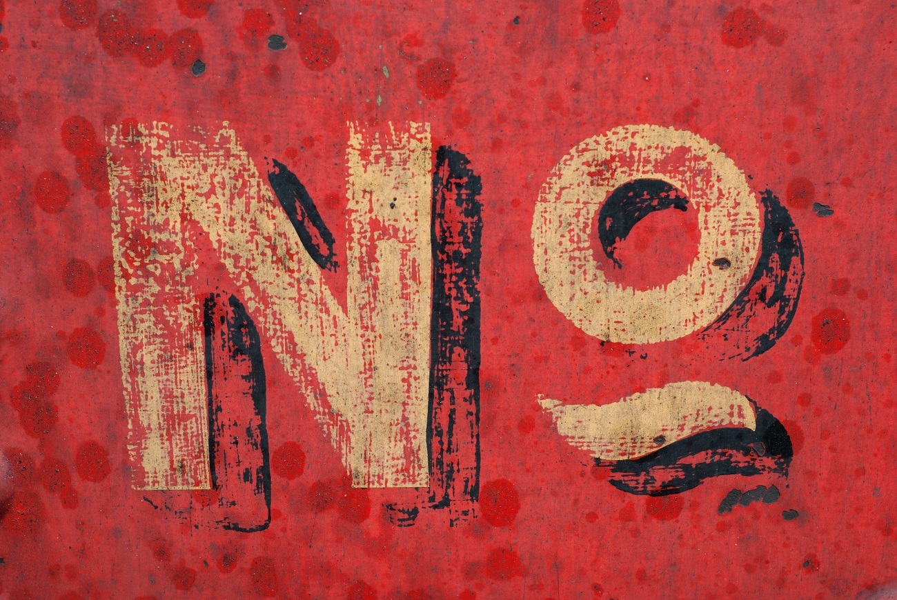 The meaning of saying no